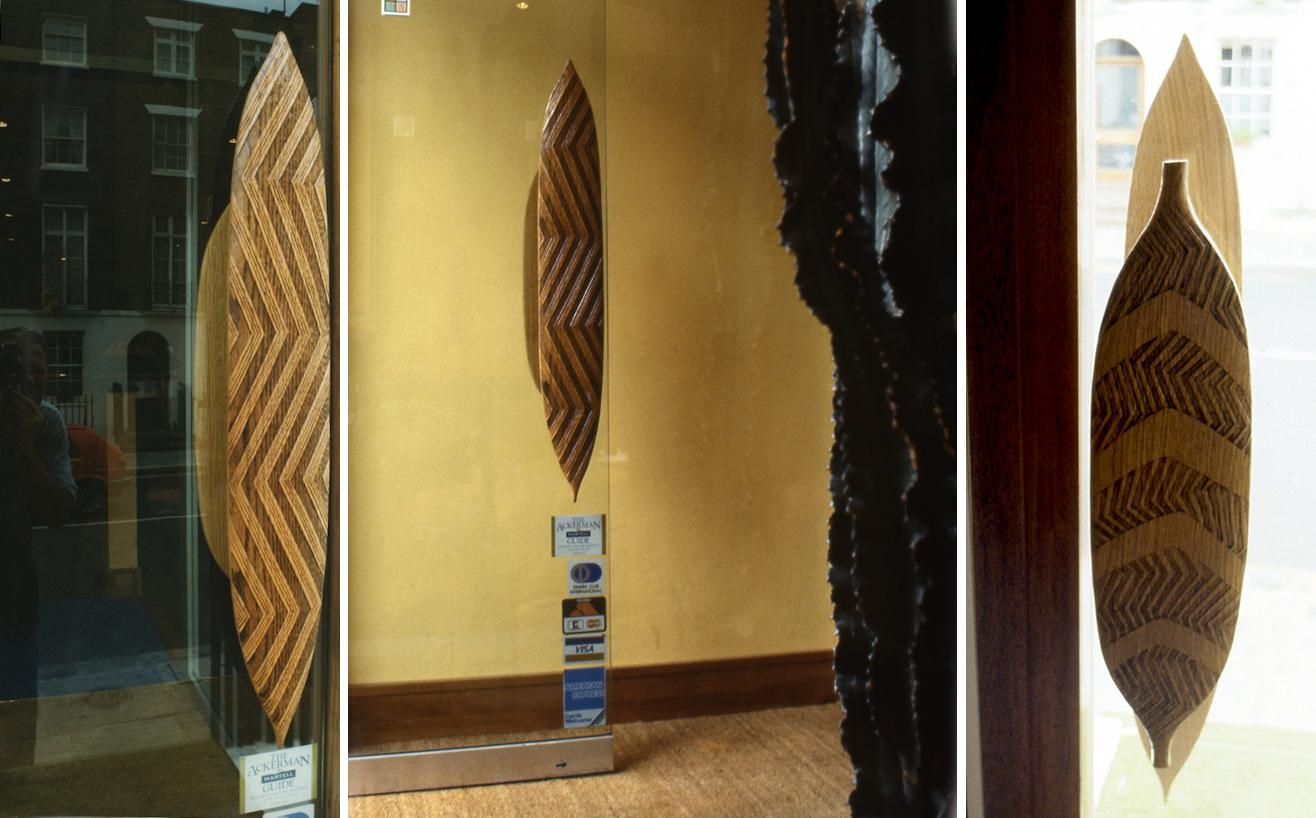 Australian restaurant door handle- commissioned.