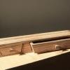Jewelry box - zebra wood.