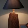 Cedar lamp.