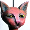 'Red Cat' made for Ruthin Arts Centre's '...a Clowder of Cats'.<iframe src=