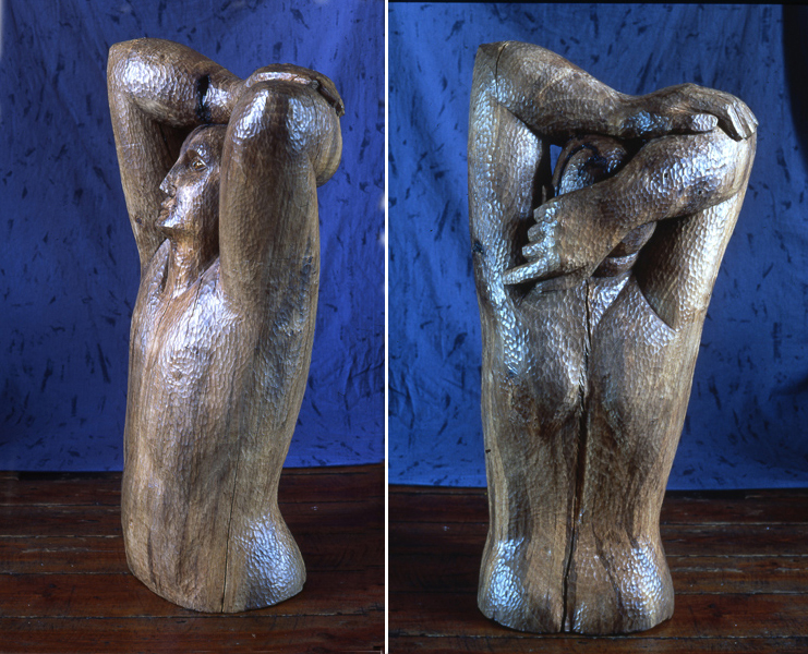 Large walnut torso.