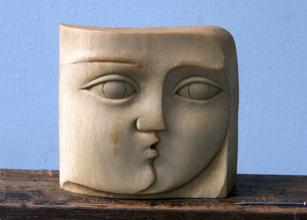 allo Pablo - carved in Lime. sold