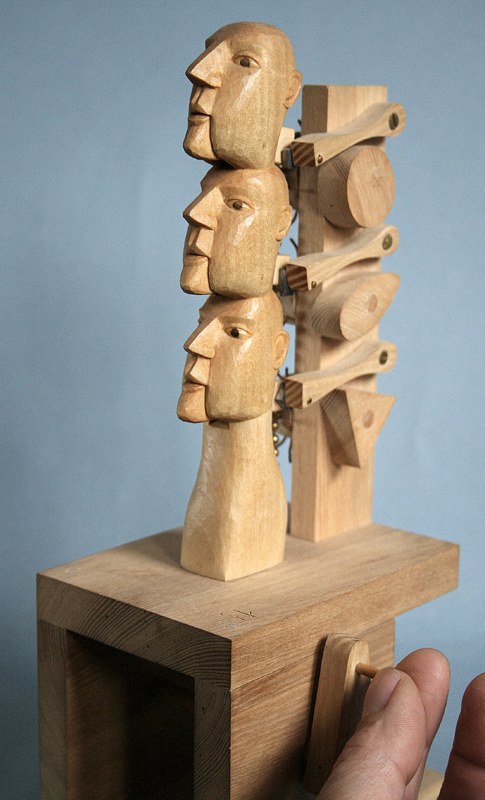 Three Headed Totem Pole