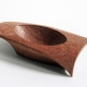 Touching bowl-Mahogany.