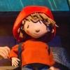 Matt from 'The Everywhere Bear' at Polka Theatre - photo Suzi Corker. See the trailer on: https://youtu.be/RSJ5r2Qiirk